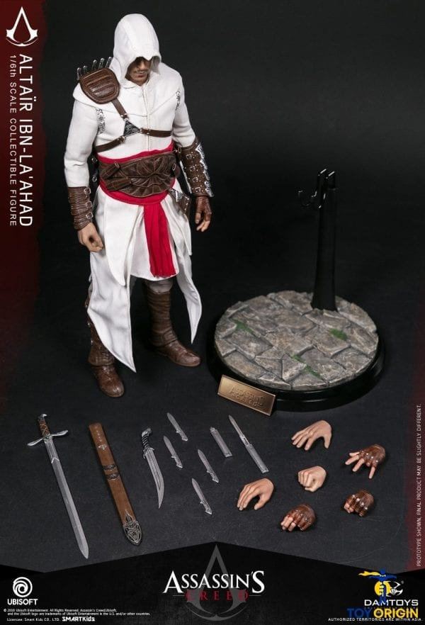DAMTOYS DMS005 1//6 Scale Assassin/'s Creed Altair Muscle Action Body