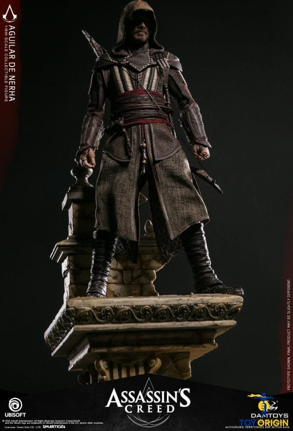 """DAMTOYS DMS006 Assassin/'s Creed 1//6 Aguilar 12/"""" Collectible Figure Outer Robe"""