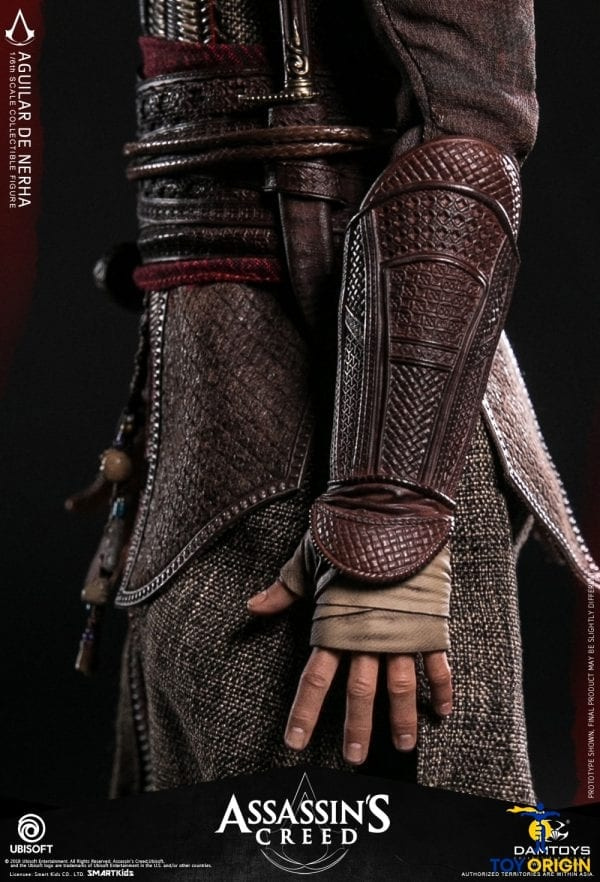 "DAMTOYS DMS006 Assassin/'s Creed 1//6 Scale Aguilar 12/"" Collectible Figure Belt"
