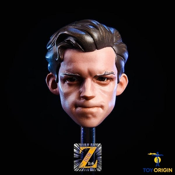 1//6 Tom Holland Head Sculpt For Spider-Man The Avengers Hot Toys PHICEN U.S.A.