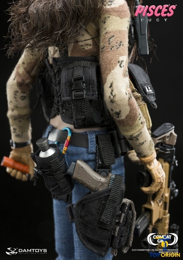 Jeans for DAMTOYS DAM DCG004 Combat Girl Series PISCES Lucy 1//6 Scale Figure
