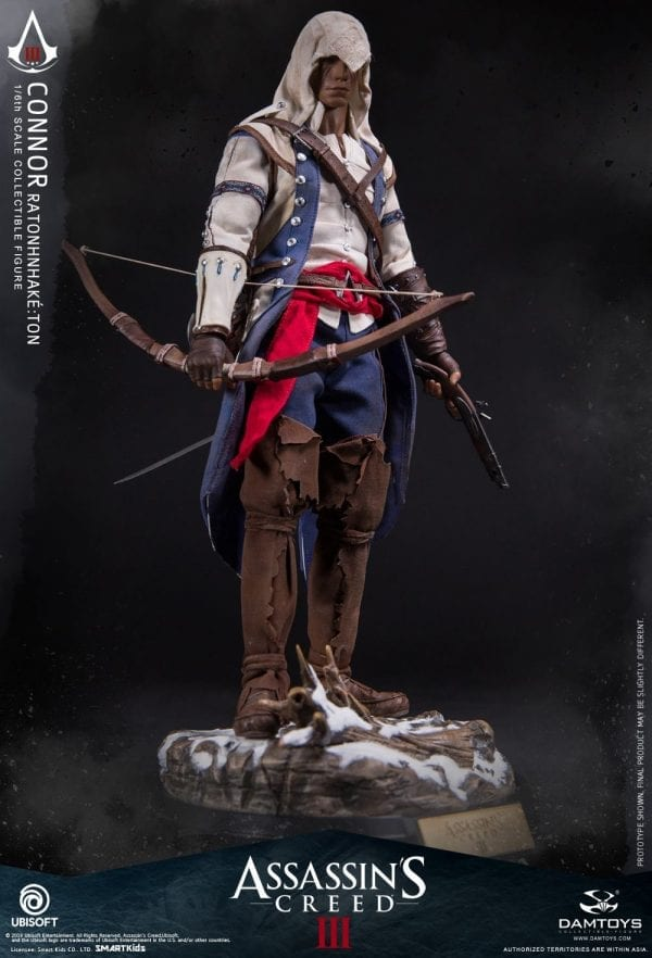 McFARLANE ASSASSINS CREED FLINTLOCK RIFLE ACTION FIGURE ACCESSORY