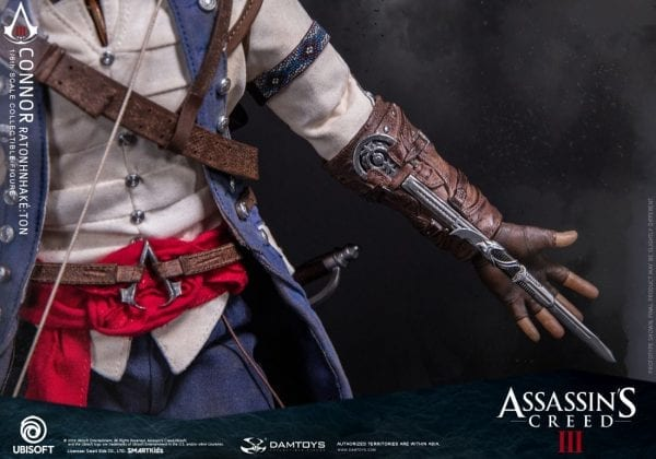 Connor Ratonhnhake Ton Assassin S Creed Iii 1 6 Scale Figure