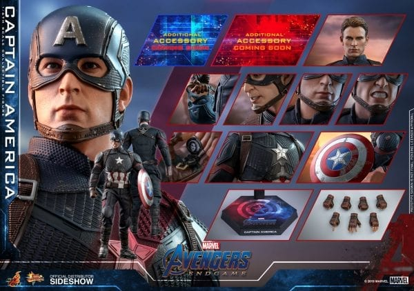 Captain America Avengers Endgame Sixth Scale Figure Toy Origin