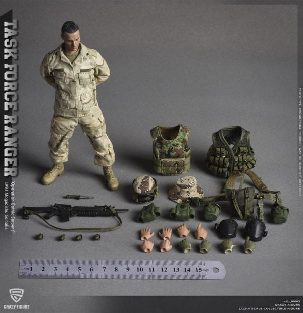 2 Sets 12/'/' Military Special Force Soldiers Model 1//6 Collectible Action Figures