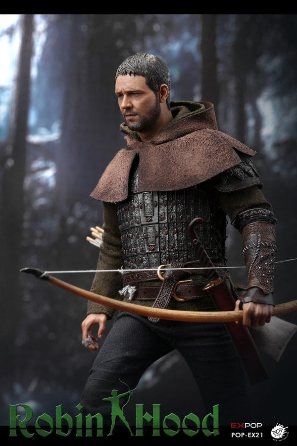 1//6 Scale POPTOYS EX21-A Chivalrous Robin Hood Green long-sleeve