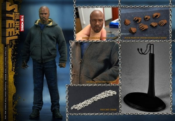 1//6 Scale Action Figure Stand Luke Cage