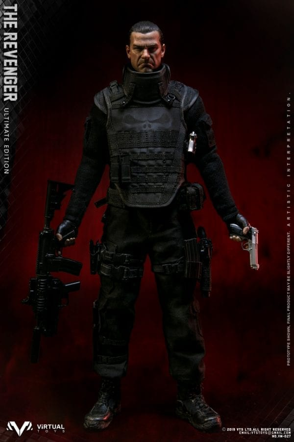 1//6 scale VTS TOYS VM-027 THE REVENGER ULTIMATE EDITION black sweater