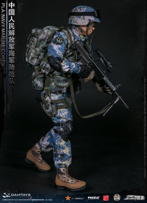 1//6 Scale Toys People/'s Liberation Army Digi Camo Back Pack