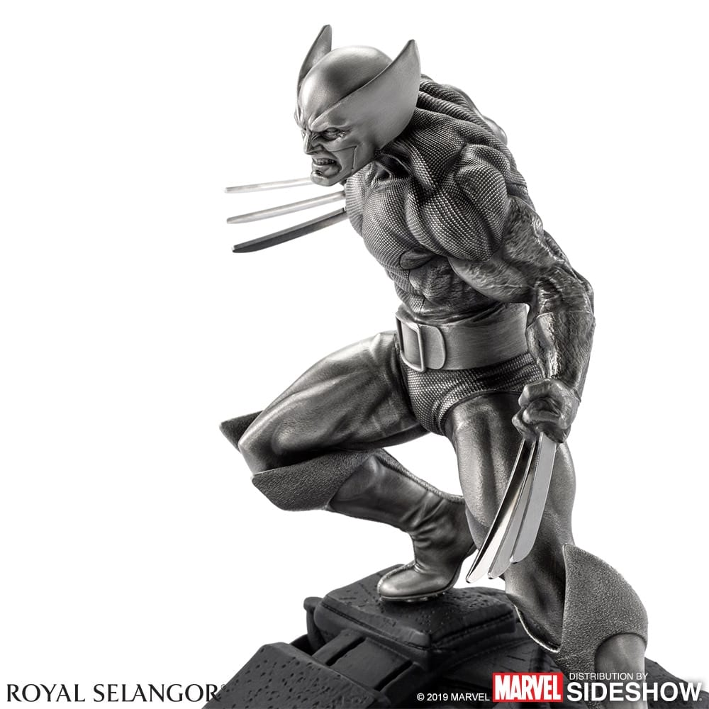 Wolverine (X-Men) 1:8 Scale Pewter Collectible | Toy Origin