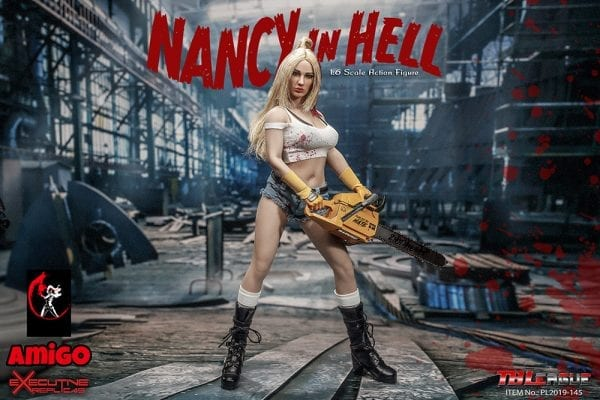 Bloody Female Shorts 1//6 Scale w// Belt Nancy in Hell TBLeague Action Fig