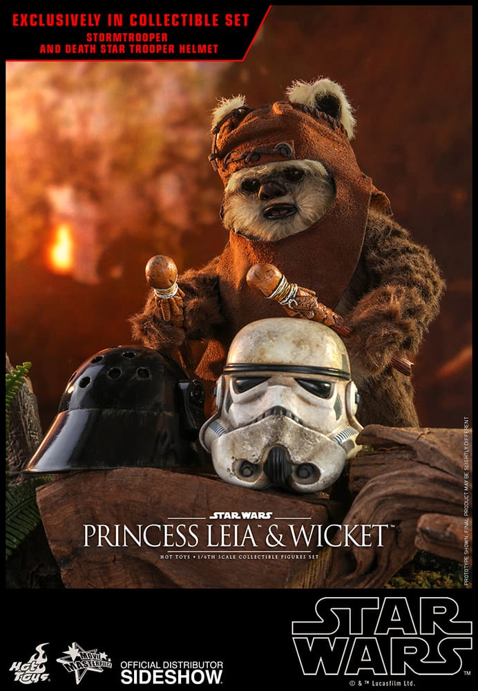 Princess Leia Endor Outfit And Wicket Star Wars Return Of The Jedi Sixth Scale Figure Collectible Set Toy Origin