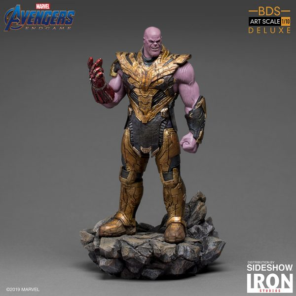 Endgame Figure Collection Toys Iron Studios 1//10 Scale Thanos Statue Avengers